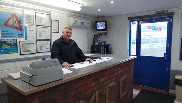 garage melksham office Wiltshire