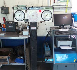 MOT Garage Melksham, Wiltshire Car Care Centre testing equipment