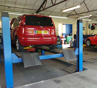 Car repair garage Melksham